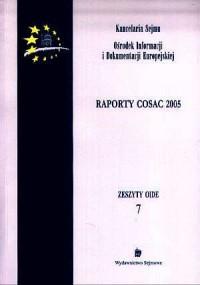Raporty COSAC 2005. Zeszyty OIDE - okładka książki