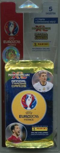 Adrenalyn XL. Blister Euro 2016 (5 + 1) - zdjęcie zabawki, gry