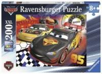 Auta. Wyścig trwa (puzzle 200-elem.) - zdjęcie zabawki, gry