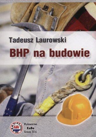 BHP na budowie - okładka książki
