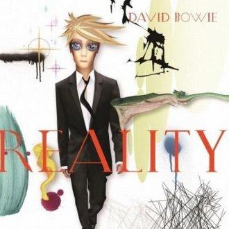 David Bowie. Reality - okładka płyty