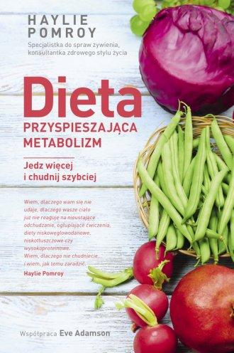 Dieta przyspieszająca metabolizm. - okładka książki