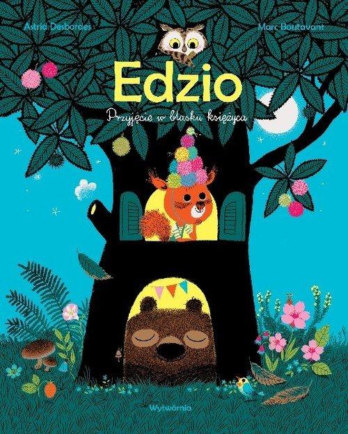 Edzio. Przyjęcie w blasku księżyca - okładka książki
