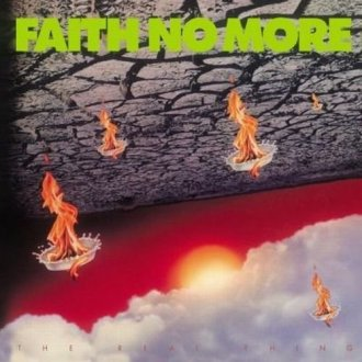 Faith no more. Real thing - okładka płyty