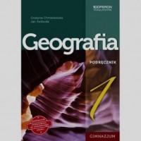Geografia. Klasa 1. Gimnazjum. Podręcznik - okładka podręcznika