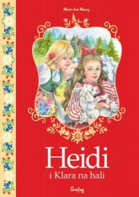 Heidi i Klara na hali - okładka książki