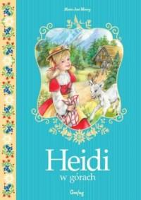 Heidi w górach - okładka książki
