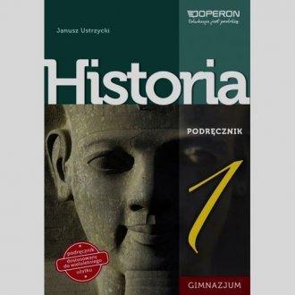 Historia. Klasa 1. Gimnazjum. Podręcznik - okładka podręcznika