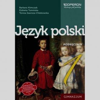 Język polski. Klasa 1. Gimnazjum. - okładka podręcznika