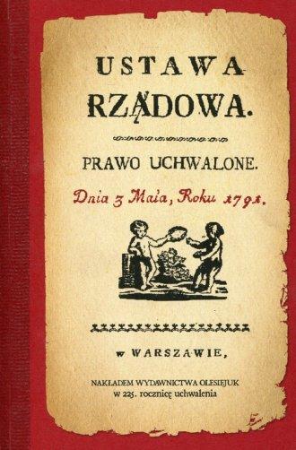 Konstytucja 3 Maja 1791 r. - okładka książki