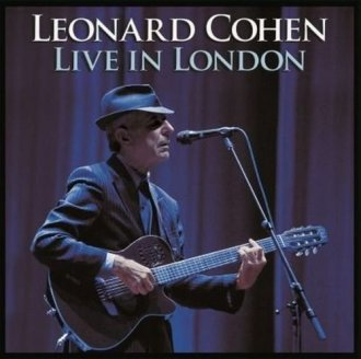 Leonard Cohen. Live in London - okładka płyty