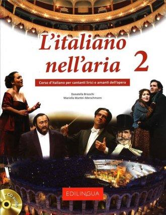 L italiano nellaria 2 (+ CD) - okładka podręcznika