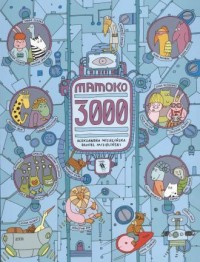 Mamoko 3000 - okładka książki