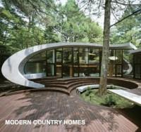 Modern Country Homes - okładka książki