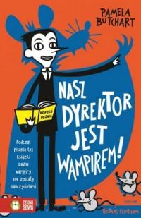 Nasz dyrektor jest wampirem! - okładka książki