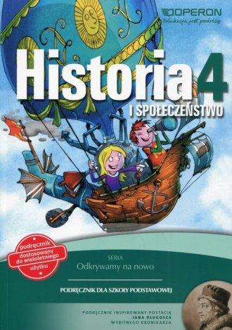 Odkrywamy na nowo. Historia i społeczeństwo. - okładka podręcznika