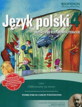 Odkrywamy na nowo. Język polski. - okładka podręcznika