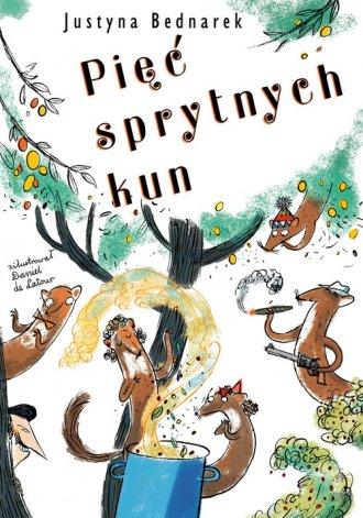 Pięć sprytnych kun - okładka książki