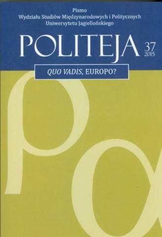 Politeja nr 37/2015 - okładka książki