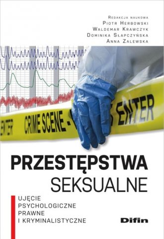 Przestępstwa seksualne. Ujęcie - okładka książki
