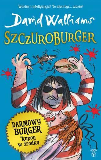Szczuroburger - okładka książki