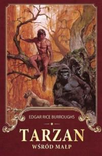 Tarzan wśród małp - okładka książki