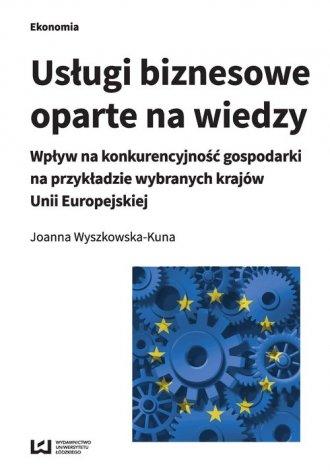 Usługi biznesowe oparte na wiedzy. - okładka książki