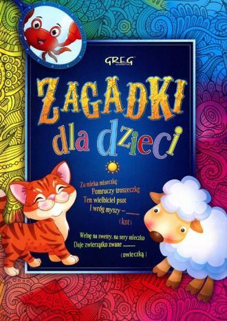 Zagadki dla dzieci - okładka książki