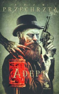 Adept - okładka książki