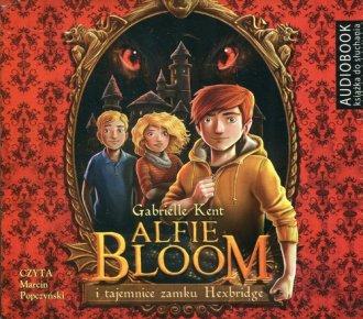 Alfie Bloom i tajemnice zamku Hexbridge - pudełko audiobooku
