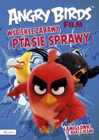 Angry Birds. Film. Wściekłe zabawy - okładka książki