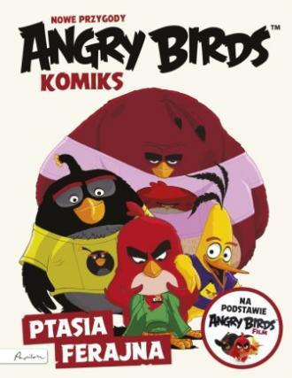 Angry Birds. Nowe przygody. Ptasia - okładka książki