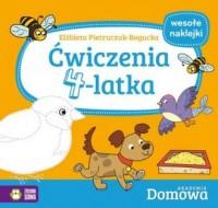 Ćwiczenia 4-latka. Domowa Akademia - okładka książki