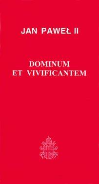 Dominium et Vivificantem - okładka książki