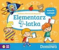 Elementarz 4-latka. Domowa Akademia - okładka książki