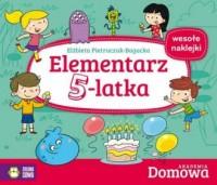 Elementarz 5-latka. Domowa Akademia - okładka książki