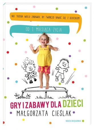 Gry i zabawy dla dzieci - okładka książki