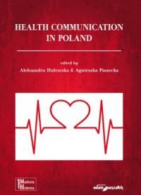 Health Communication in Poland - okładka książki