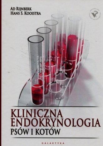 Kliniczna endokrynologia psów i - okładka książki