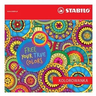 Kolorowanka dla dorosłych - okładka książki