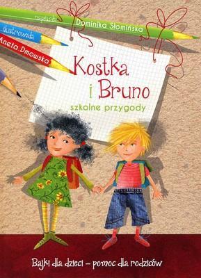 Kostka i Bruno. Szkolne przygody. - okładka książki