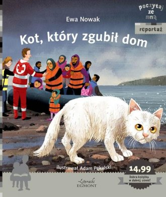 Kot, który zgubił dom. Poczytaj - okładka książki