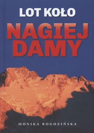 Lot koło Nagiej Damy - okładka książki