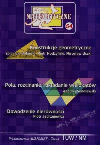Miniatury matematyczne 54 - okładka podręcznika