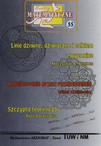 Miniatury matematyczne 55 - okładka podręcznika