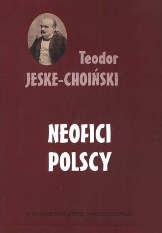 Neofici polscy. Materiały historyczne - okładka książki