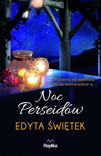 Noc Perseidów - okładka książki