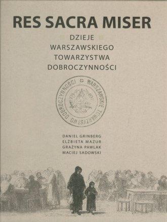 Res Sacra Miser. Dzieje Warszawskiego - okładka książki