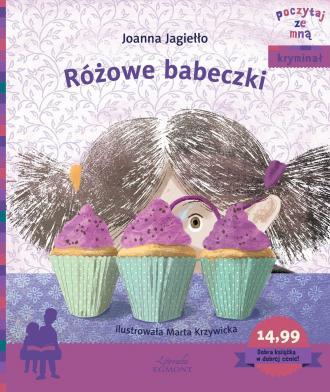 Różowe babeczki - okładka książki
