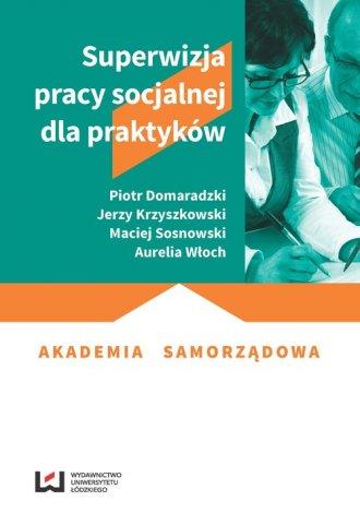 Superwizja pracy socjalnej dla - okładka książki